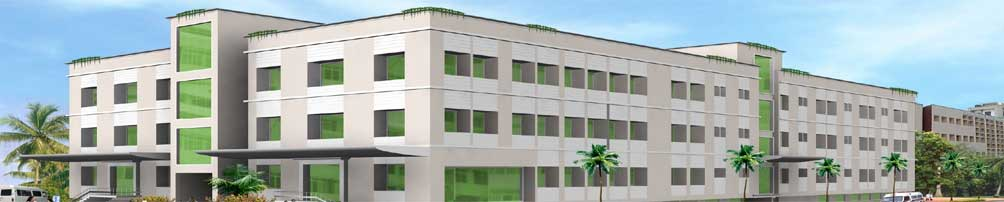 300-bed Multi Speciality hospital